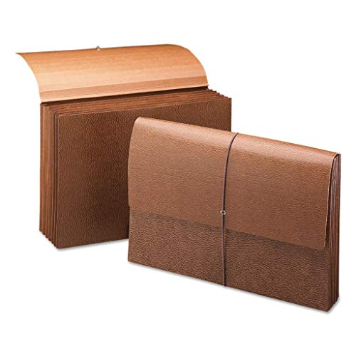 SMD72473 - Size : Letter - Smead Leather-Like Expanding Partition Wallets - Box of 10 (Expanding Like Partition Leather Wallet)