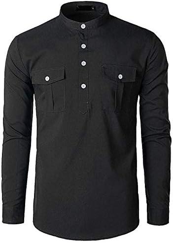 IYFBXl Camisa Chic/Punk y gótica callejera para Hombre - Patchwork de Color sólido, Negro, S: Amazon.es: Deportes y aire libre