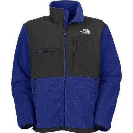 North Face Men's M Denali Jacket Bolt Blue/Asphalt Grey XL