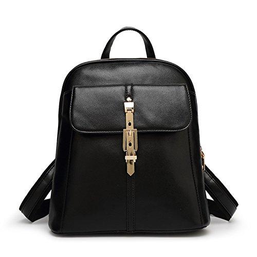 (HOBOP JHB700022C4 2016 PU Leather Korean Version Women's Handbag,Vertical Section Square Backpack)