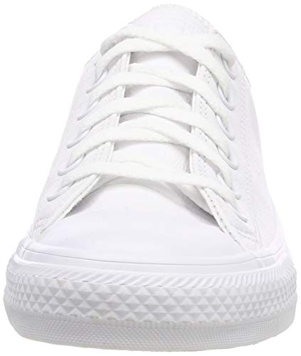 Converse Mixte Adulte Ct Fitness Taylor De Ox Blanc Leather Chuck Chaussures SxwrgqSPC
