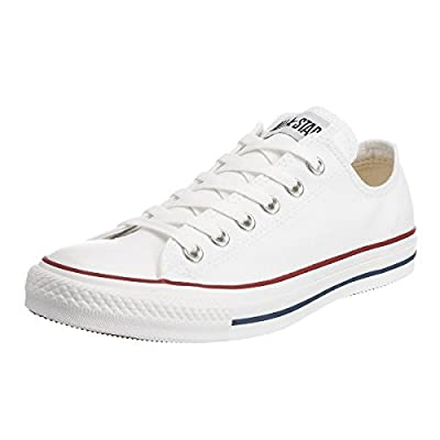 Converse Unisex Chuck Taylor All Star Ox Sneakers (8 M US Women / 6 M US Men, Optical White)