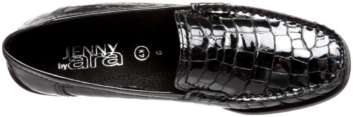 Ara Vrouwen Phoebe Loafer Zwart Croco Patent
