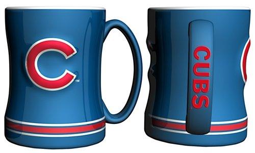 Chicago Cubs Coffee Mug - 15oz Sculpted