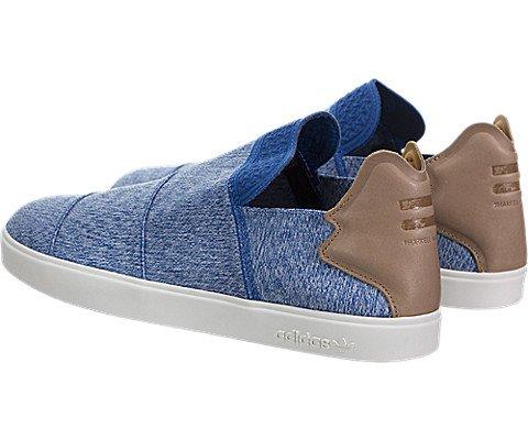 wholesale dealer e1049 8fd51 Adidas x Pharrell Williams Men Vulc Slip-On (blue  clear gre