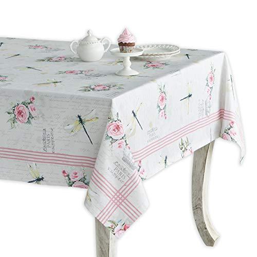 Maison d' Hermine Champ de Mars 100% Cotton Tablecloth 60 Inch by 108 Inch
