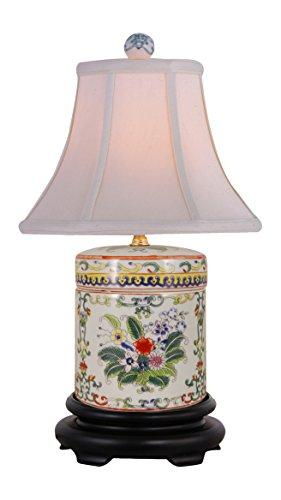 East Enterprises LPBWH086A Table Lamp, - Painted Lamps Porcelain Table Hand