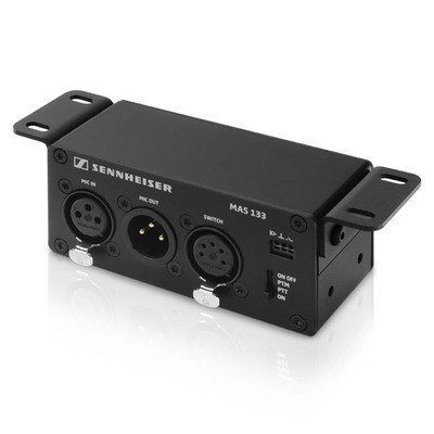 Sennheiser Speechline Inline Logic Box with (2) XLR-3 for audio and (1) XLR- by AVBcable.com