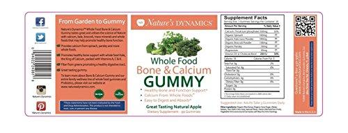 Amazon Nature S Dynamics Whole Food Bone And Calcium Gummy