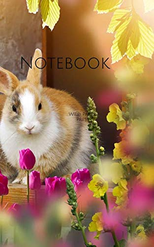 (Notebook: Rabbit Easter time small cute rabbits)