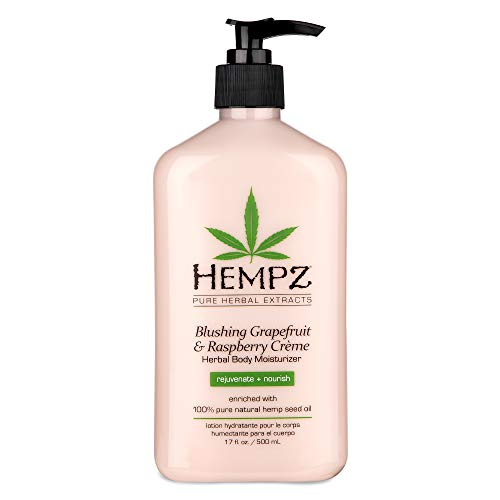 Hempz Blushing Grapefruit & Raspberry Creme Herbal Body Moisturizer Lotion - 57% Off Regular Price