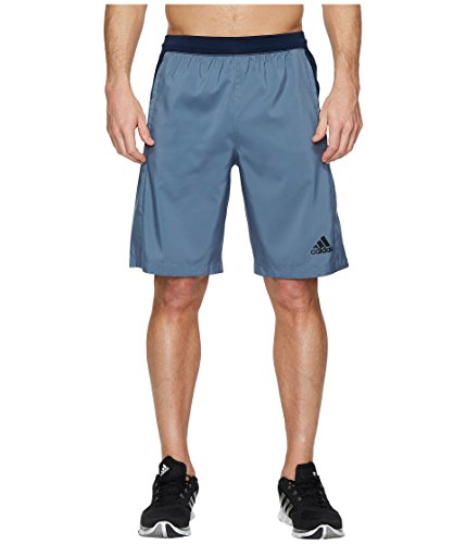 adidas Mens Designed-2-Move Shorts, Raw Steel, Small