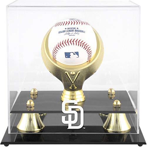 Mounted Memories San Diego Padres Golden Classic Single Baseball Display Case