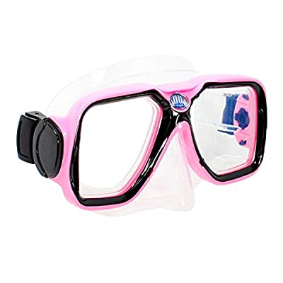 Deep Blue Gear Diving Snorkeling Mask (Maui) with Optical Corrective Lenses