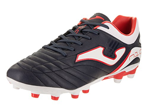 Joma Número-10 603 Navy Firm Ground Multitaco - Botas Fútbol Hombre