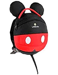 Little Life Disney Mickey Mouse Backpack - Red