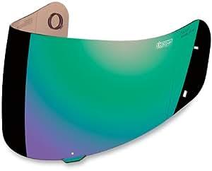 Icon Helmet Pro Shield - Fog Free - Green 0130-0393