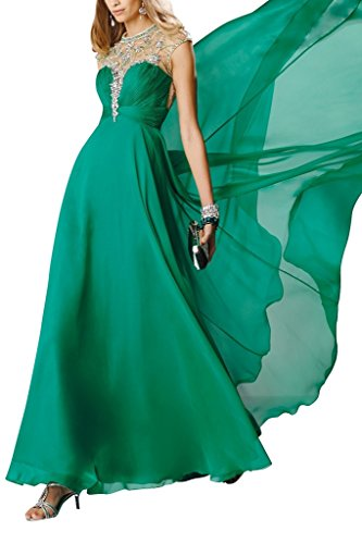 Charm Bridal 2016 Long Sequins Summer Dress Prom Dresses Party Dress Ball Dress -14-Green by Charm Bridal