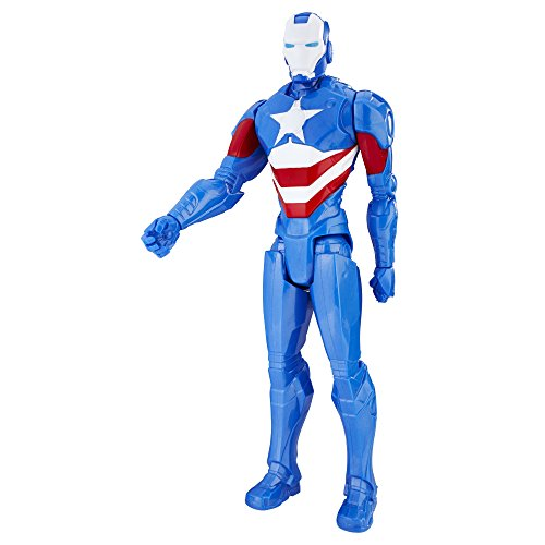 Marvel Titan Hero Series 12 Inch Iron Patriot Figure