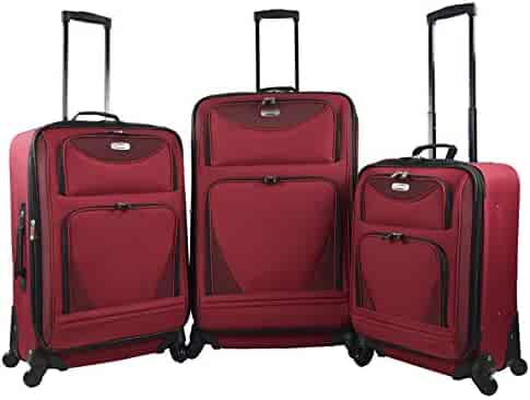 f5093dccdc3af Shopping Polyester - Spinner Wheels - $100 to $200 - Luggage Sets ...