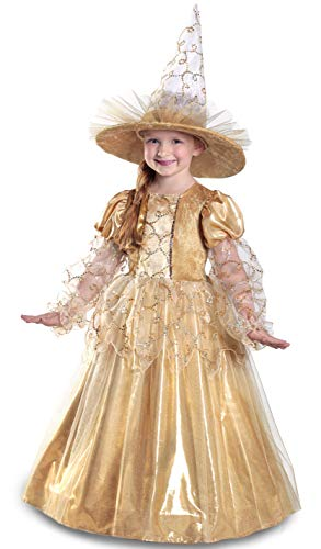 Princess Paradise Mila The Gold Witch Costume, X-Large