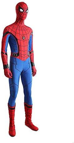 Spiderman Homecoming Cosplay Costume Spider man Zentai Suit Halloween