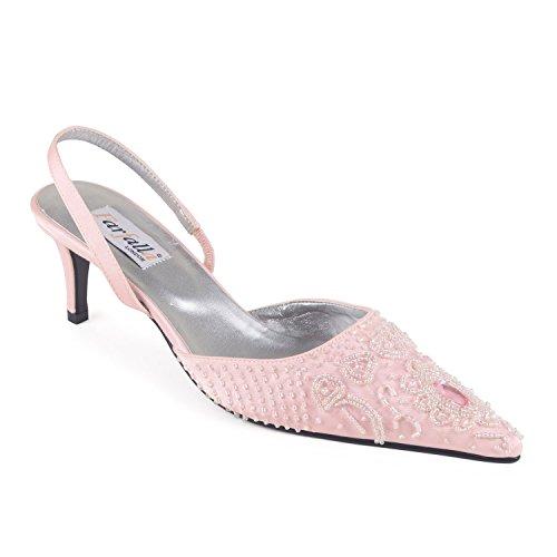 FARFALLA - Sandalias de vestir para mujer Rosa