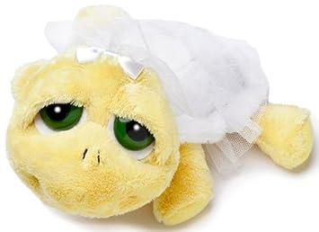 Russ Shelly Bride Berrie LiL Peepers - Tortuga de peluche vestida de novia (