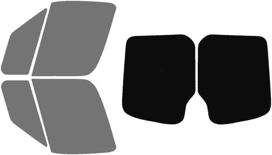 Precut Window Tint Kit 3500 Fits: 2010-2018 Mercedes-Benz Sprinter 1500 2500 4500 Van Cargo Van Includes: Front Windshield Visor precut in 5/% 3500XD Automotive Window Film