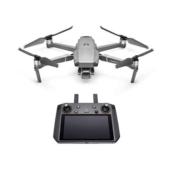 """DJI Mavic 2 Pro Drone con Smart Controller, Fotocamera Hasselblad L1D-20c, Video HDR a 10 bit, 31 Min di Autonomia, Sensore CMOS 1"""" 20 MP, Radiocomando con Monitor 5.5"""" Ultra-Luminoso 1080p 2 spesavip"""