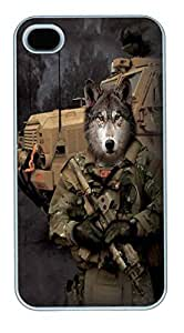 IPhone 4S Cases JTAC Lonewolf Polycarbonate Hard Case Back Cover for iPhone 4/4S White