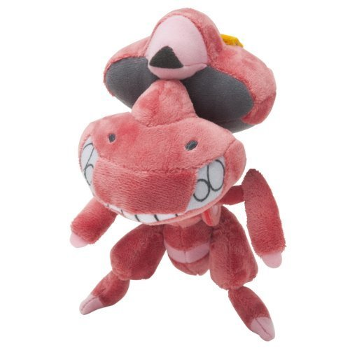 Pokemon Center Original Red Genesect Plush Doll