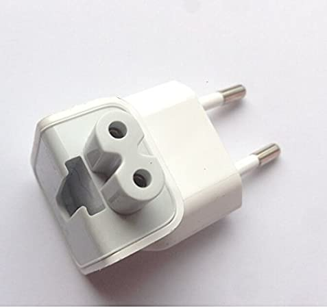 Adaptador Enchufe España Europa Europeo para Reemplazo Cargador Apple MacBook Pro Adapter iPod: Amazon.es: Electrónica