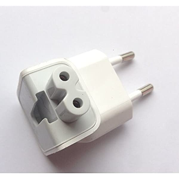 Adaptador Enchufe España Europa Europeo para Reemplazo Cargador Apple MacBook Pro Adapter iPod: Amazon.es: Electrónica