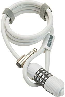 ADEPT (アデプト) ウィズ 812 ケーブルロック ホワイト LKW26301