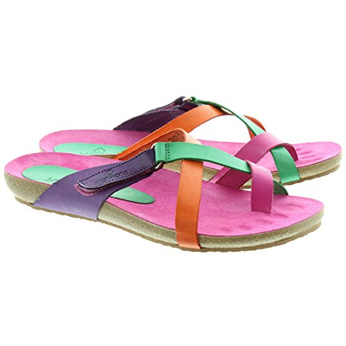 Yokono - 581 orteils Sandals Rose