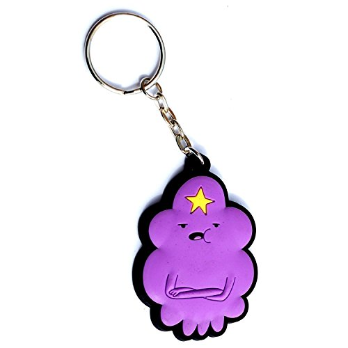 Adventure Time Lumpy Space Princess Rubber Keychain ()