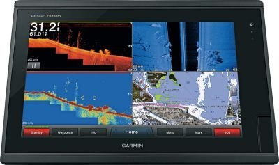 Garmin GPSMAP 7616xsv - Preloaded LakeVü HD & BlueChart g2
