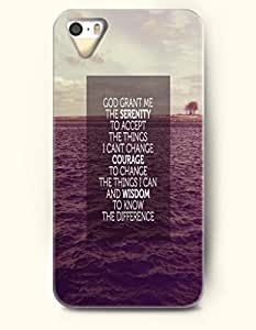 For Iphone 6 Phone Case Cover Hard with Design God Grant Me The Serenity To Accept The Things I Cant Change Courage The Things I Can And Wisdom To Know The Difference- Pious Monologue - For Iphone 6 Phone Case Cover