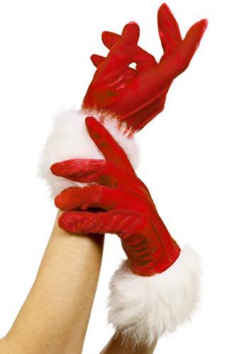 Smiffys Santa Gloves