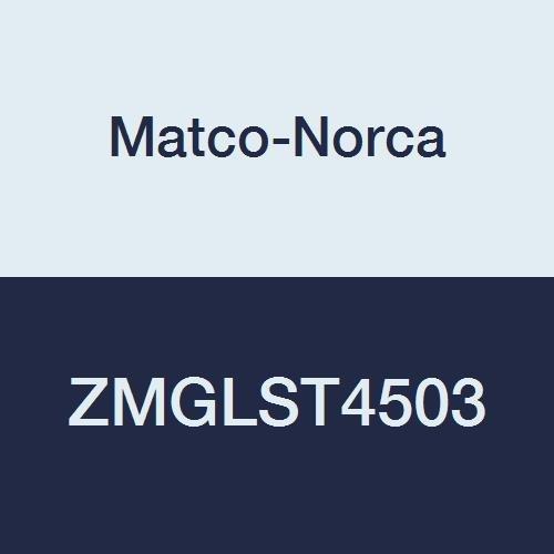 Matco-Norca ZMGLST4503 Galvanized Malleable Iron 45 Street Elbow, 1/2