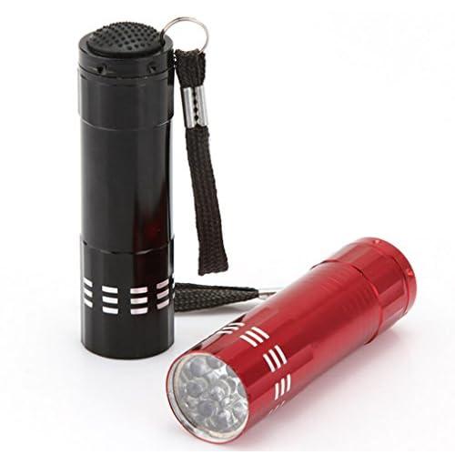 yueton 2Pcs 9 LED Mini Aluminum Push Button Handheld Flashlight Torch with LanyardBest Tools  sc 1 st  Pacific Interlink & yueton 2Pcs 9 LED Mini Aluminum Push Button Handheld Flashlight ... azcodes.com