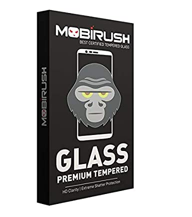 MOBIRUSH Pro Hd+ Crystal Clear Tempered Glass Guard for Xiaomi Redmi Mi Note 5 Pro Screen guards