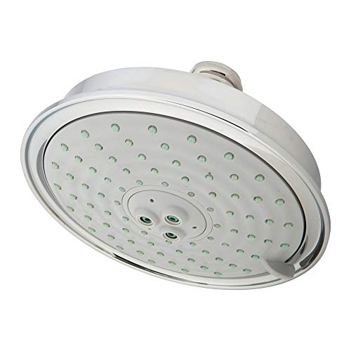 Newport Brass 2142/26 Traditional Single-Function Showerhead, Polished Chrome ()