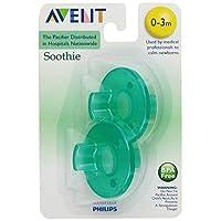Philips Avent SCF190 /01 Soothie 0-3 meses Verde /Verde, 2 unidades