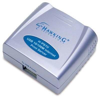 Hawking Technology HPS1U 1 Port USB Internet Print Server by Hawking Technology