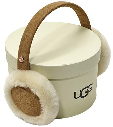 UGG Kids Classic Water Resistant Sheepskin Earmuff (Toddler/Little Kids) Chestnut One Size