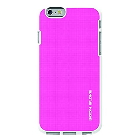Body Glove Fusion Silk Carrying Case for Apple iPhone 6 Plus/6s Plus, Pink/White (9499701) (Body Glove Suit Up Phone Cases)