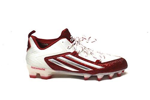 White Adidas platino Red Calcio 8 2 0 power platinum 5 Crazyquick Tacchetti Mens White nR8npB