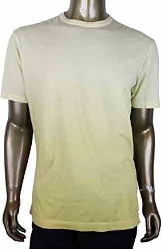 f5f602b4594 Gucci Men s Shaded Yellow Cotton Crest Hysteria Jersey T-Shirt 369221 7463  (2XL)
